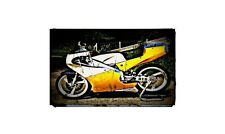 1995 tz125 Bike Motorcycle A4 Photo Poster