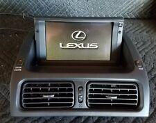 2001, 2002, 2003, 2004, 2005 Lexus Is300 Genuine Navigation Display Unit