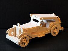 VITAGE CAR MG TC - 3D Wooden Model Puzzle - Construction kit