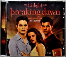 CD Twilight Breaking Dawn Part 1 Movie Soundtrack The Score Instrumental NICE