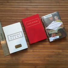 SET LOT EVERYMAN'S LIBRARY POCKET POETS 3 PC Gift BOOKS HOLIDAY rare Vintage