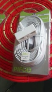 2/4 Way Telephone Adaptor  Single Or With  5M/20M  Extension Lead