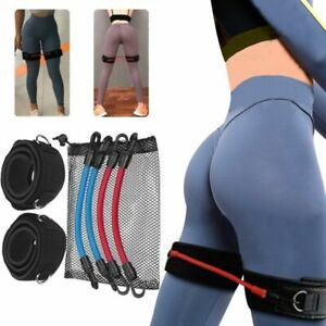 Resistance Bands Set Glutes Thighs Booty Speed Agility Training Exercise Elastic