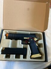 New listing Aw Customs Airsoft Green Gas Pistol