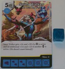 "SAINT WALKER ""ALL WILL BE WELL""128/142 War Of Light Dice Masters DC"