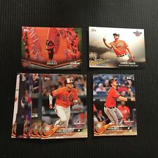 2018 TOPPS OPENING DAY BALTIMORE ORIOLES MASTER TEAM SET 11 CARDS INSERTS