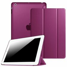 For Apple iPad 2 / 3 / 4th Gen with Retina Display Slim Shell Case Stand Cover