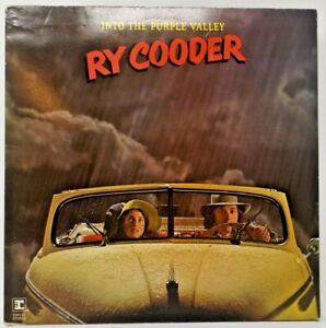Ry Cooder 'Into the Purple Valley' vinyl gatefold LP