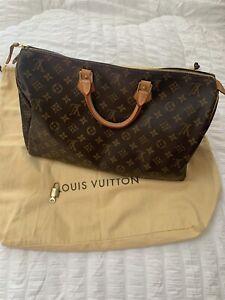 Louis Vuitton Monogram Speedy 40 Bag Handbag