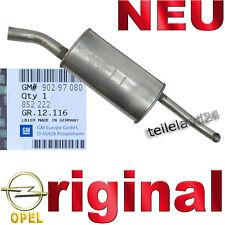 NEU Orig GM Endschalldämpfer Opel Kadett E Kombi Kasten Endtopf f Auspuffanlage