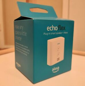 Amazon Echo Flex Plug-in Mini Smart Speaker with Alexa | Dual Band WiFi | USB A