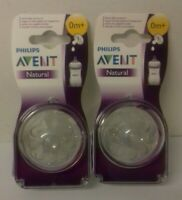 Avent - Philips - 2 capezzoli flusso neonato - 0m Lotto x 2