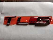 Genuine OEM 2007-08 Acura TL-Type S Rear Emblem 75722-SEP-A62 Brand new in bag!