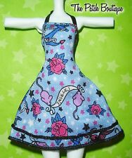 MONSTER HIGH CATRINE SHRIEKWRECKED DOLL REPLACEMENT SAILOR JERRY STYLE DRESS