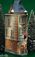 CITY CLOCKWORKS 1 OF 3 UPTOWN SHOPPES # 55313 DEPT 56 RETIRED Christmas in City