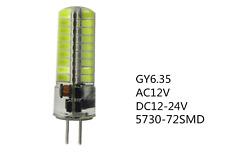 G6.35 GY6.35 LED Lampe 10 Watt LED 12V 24V Leuchtmittel GU5.3 Warmweiß, Licht