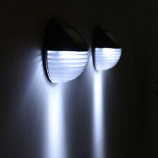 LED Solar Power Wall Mount Light Outdoor Waterproof Garden Yard Fence Lamp