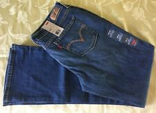 Levis 515 Embroidered Mid Rise Boot Cut Stretch Denim Jeans Womens 8M /29 NWT