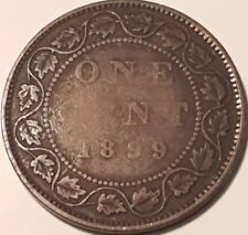 1899 Canadain Large Penny  ID #A5-66