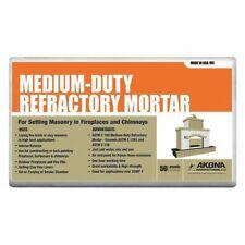 Akona 104319 50 Lb. Gray Refractory Mortar