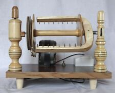 New Wooden Electric Spinning Wheel Additional Coils Handmade Russia