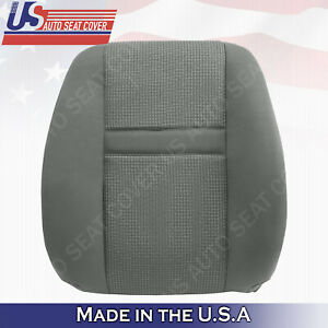 2006 to 2009 Dodge Ram 2500 3500 Front Driver upper cloth seat cover LH Gray