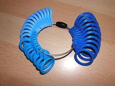 plastic ring sizers 32 pcs U.K. sizes