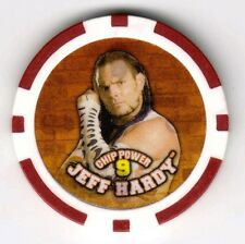 JEFF HARDY 2007 WWE CHIPZ Poker Style Chip *Ultra Rare & Hard To Find!*