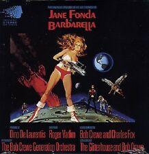 Barbarella ORIGINAL MOVIE SOUNDTRACK Jane Fonda NEW SEALED Red Colored Vinyl LP