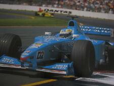 Poster Mild Seven Benetton B200 2000 #11 Giancarlo Fisichella (ITA) Melbourne