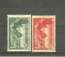 "FRANCE STAMP TIMBRE N° 354/55 ""VICTOIRE SAMOTHRACE DU LOUVRE 1937"" NEUFS xx SUP"