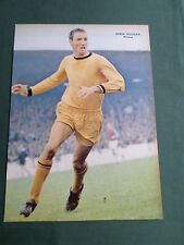 DEREK DOUGAN - WOLVES PLAYER-1 PAGE MAGAZINE PICTURE- CLIPPING/CUTTING