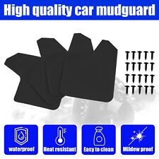 4pcs Universal Plastic Mud Flaps Front Amp Rear Splash Mudguards For Car Truck Suv Fits Toyota