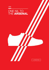 Adidas Arsenal A4 260GSM Poster Artwork Casuals