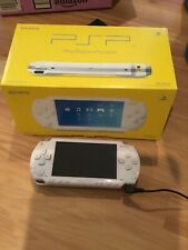 Sony PSP 1000 White 6.60 CFW with AC Adapter **SHIP FROM U.S.A.***