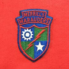 WWII Merrill's Marauders Patch