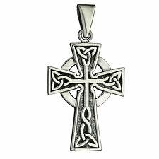 7g Solid 925 Sterling Silver Cross with Skull Kreuz Schädel BELDIAMO Pendant-S