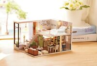 Dreams Assembling DIY Miniature Dollhouse Kits -Quiet Time