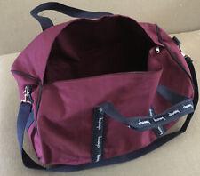 Choosy Cotton Canvas Travel Equipment Flight Carry Duffle Shoulder Bag