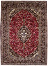 New listing Hand-Knotted Semi Antique Signed Classic 10X14 Vintage Oriental Rug Wool Carpet