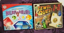 Pc Games - Jewel Quest 1 & 2 Solitaire + Bejeweled 2