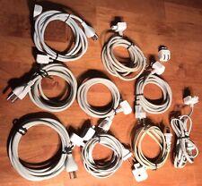 Lot(10) OEM EXTENSION AC POWER CORD APPLE MACBOOK VOLEX APC70 IMAC MAGSAFEC