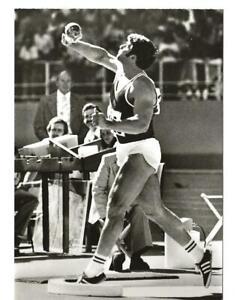 AK DDR Sportler | Udo Beyer (Potsdam) | Goldmedaille im Kugelstoßen |