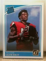 Calvin Ridley Atlanta Falcons RC 2018 Panini Donruss Rated Rookie #311