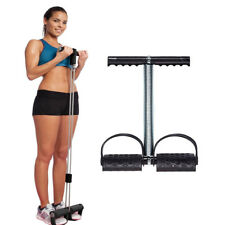 Workout Bodybuilding Trainer Tummy Action Rower Trimmer Abs Exerciser Black