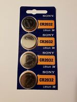 4- Sony - Lithium Battery-3V-cr2032 /cr 2032- Very Fast Shipping- EX- Date 2028