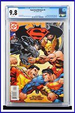 Superman Batman #4 CGC Graded 9.8 DC January 2004 White Pages Comic Book