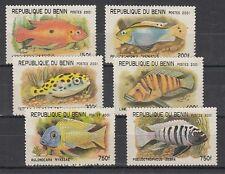 D. Fische  Meerestiere  Benin  XLI - XLVI  **  (mnh)