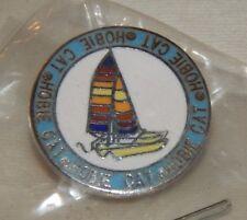 Vintage Hobie Cat Catamaran advertising pin MINT IN BAG