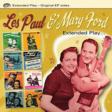 Les Paul and Mary Ford : Extended Play CD (2014) ***NEW*** Fast and FREE P & P